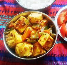 Cottage Cheese Recepies by Paneer Jalfrezi Indian Cottage Cheese With Vegetables