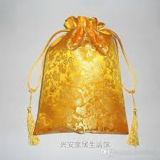gold gift bags gold candy gift bags large luxury style satin
