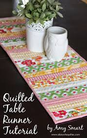 quilt as you go tablerunner easy quilt table runners and blog