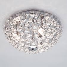 Flush Ceiling Lights For Bathroom Ovii Light Bathroom Oval Flushing Chrome Glass Lights Lighting Spa