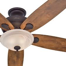 5 blade ceiling fan with light hunter ceiling fans with lights and remote control 59039 windemere