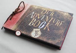 Diy Wedding Album Black Cardstocks Our Adventure Book Up Diy Anniversary Scrapbook