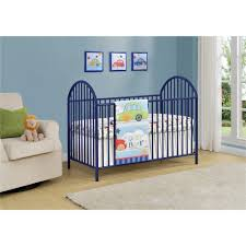 Cribs With Mattresses Cosco Prism Navy Metal Crib 5852496pcom The Home Depot