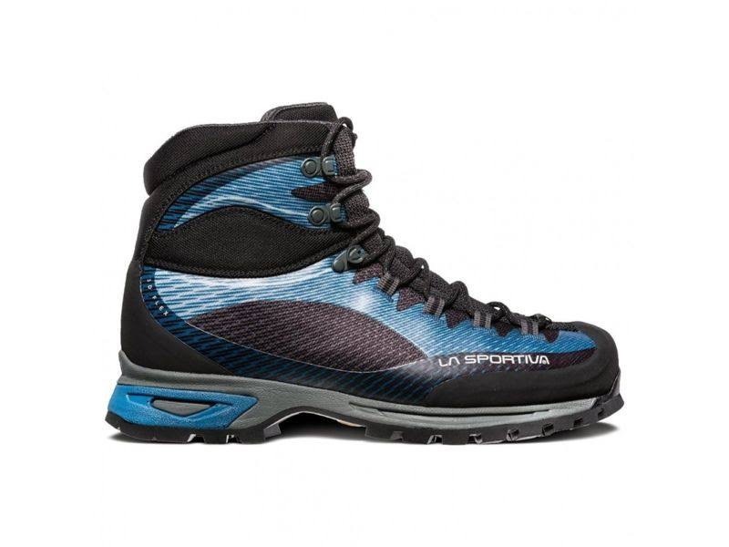 La Sportiva Trango Trk Gtx Hiking Shoes Blue/Carbon 46 11V-600900-46