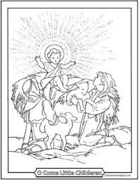 visitation of mary to elizabeth coloring page teach catholic re