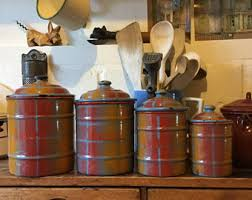 french canisters etsy