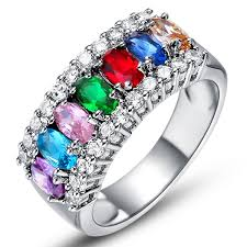 fashion rings aliexpress images Fashion rings for women anel com pedra grande casamentosilver jpg