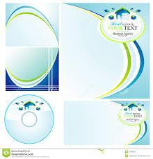 Real Estate Brochure Design Templates real estate set of brochure background royalty free stock images