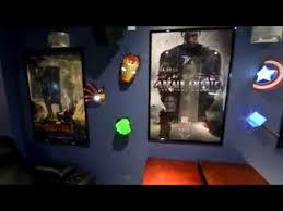 3d deco superhero wall lights avengers 3d light fx youtube