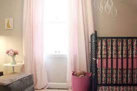 Soft Pink Curtains The Light Gray Nursery Ideas Regarding Soft Pink Curtains Ideas
