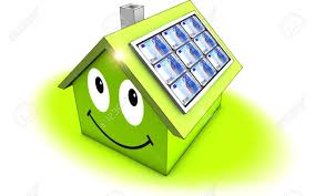 solar panels clipart smiling solar panels concept stock photo picture and royalty free