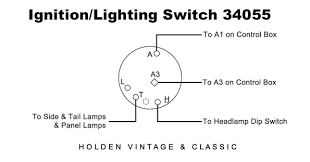 plc type ignition u0026 lighting switch for vintage u0026 classic cars