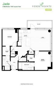 V A Floor Plan View 3d Floor Plans Of Verde Pointe Apartments In Arlington Va