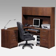 Cherry Computer Desk With Hutch Best L Shaped Computer Desk With Hutch Thediapercake Home Trend