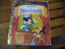 prince pauper golden book disney wiki