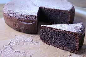 rich silky gluten free mudcake made with a whole block of