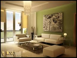 Green Living Room  Green Furniture - Green living room design