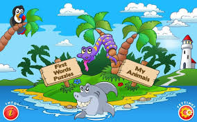 kids animal first words puzzle android apps on google play