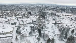 Worst Snowstorm In History by January Storm Could Be Biggest Portland Snow Event Since 1980