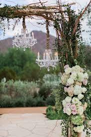 Rustic Wedding Chandelier Wedding Decorations 40 Romantic Ideas To Use Chandeliers