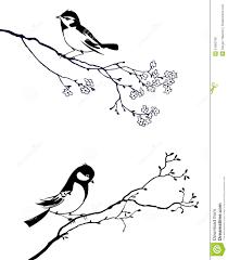 bird on branch tree royalty free stock image image 21863706