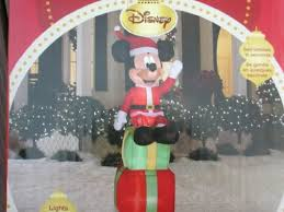 cheap mickey mouse christmas inflatable disney 6 u0027 mickey mouse