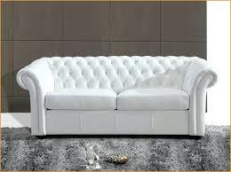 canapé chesterfield cuir blanc canapé chesterfield simili cuir conception impressionnante canape