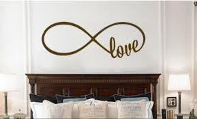 Vinyl Wall Decals For Bedroom Love Infinity Symbol Bedroom Wall Decal Bedroom Loop With