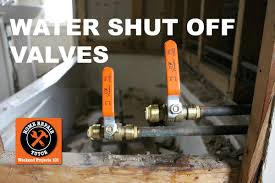 stop valves for bathroom sink how to install a water shut off valve in a bathroom step by step