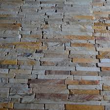 natural stone scabos travertine random brick pattern tumbled