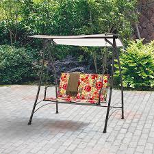 Lawn Swing Furniture Shop Swings U0026 Gliders At Lowes Patio Swing Set