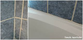 Replacing Grout In Bathroom How To Refinish Outdated Tile Yes I Painted My Shower