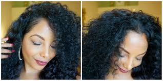 3a Curly Hair Extensions by How To Blend Natural Hair With A Curly Half Wig Youtube