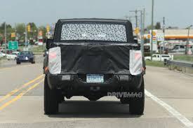 jeep wrangler pickup the jeep wrangler pickup is taking shape