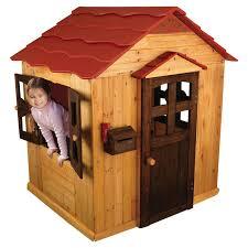 Wooden Backyard Playhouse Kidkraft Outdoor Playhouse U0026 Reviews Wayfair