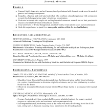 exle of resume cover letter resume cover letter sles fors consultant phlebotomy exle of