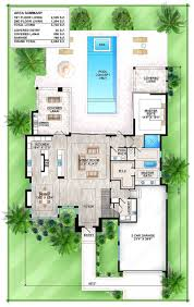 house plans for florida plan 86023bw florida house with indoor outdoor living arresting