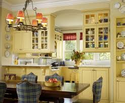 butter yellow paint kitchen traditional with upholstered chairs yellow