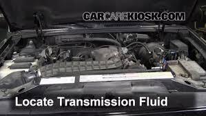 2006 ford explorer transmission fluid change transmission fluid level check ford explorer 1995 2001 2000