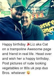 Rude Happy Birthday Meme - 25 best memes about happy birthday liz happy birthday liz memes