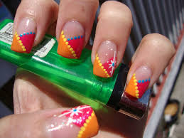 crazy fingernail designs how you can do it at home pictures