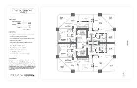 museum floor plans one thousand museum we rent brickell