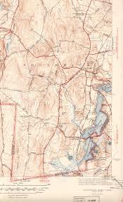 Harvard Yard Map Southwick Ma Ct Quadrangle