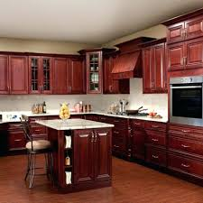 kitchen cabinets high quality cherry stained staining diystained