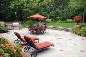 Natural Stone Patio Ideas Swimming Pool Landscaping Ideas Inground Pools Nj Design Pictures