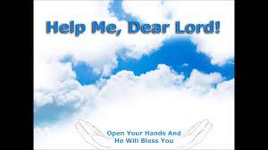sample thanksgiving prayer help me dear lord god of the heavens sample prayer youtube