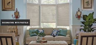 Custom Window Treatment by Decorating With Pastel Colors Ellner U0027s Custom Window Treatments