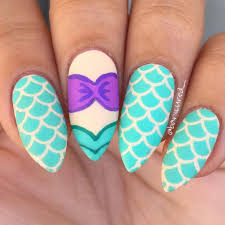best 25 little mermaid nails ideas on pinterest little mermaid