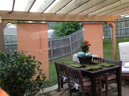Outdoor Privacy Blinds For Decks 108 Best Home Curtain Track Images On Pinterest Outdoor Blinds