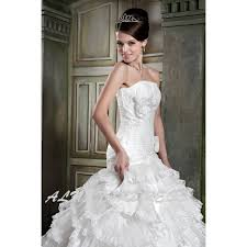custom made wedding dress custom made wedding dress gown strapless neck lace up back